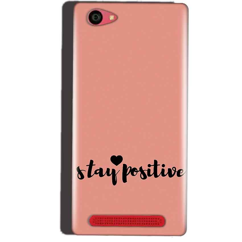 Reliance Lyf Wind 7 Mobile Covers Cases Stay Positive - Lowest Price - Paybydaddy.com