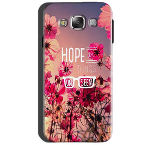 SAMSUNG GALAXY E7 Mobile Covers Cases Hope in the Things Unseen- Lowest Price - Paybydaddy.com