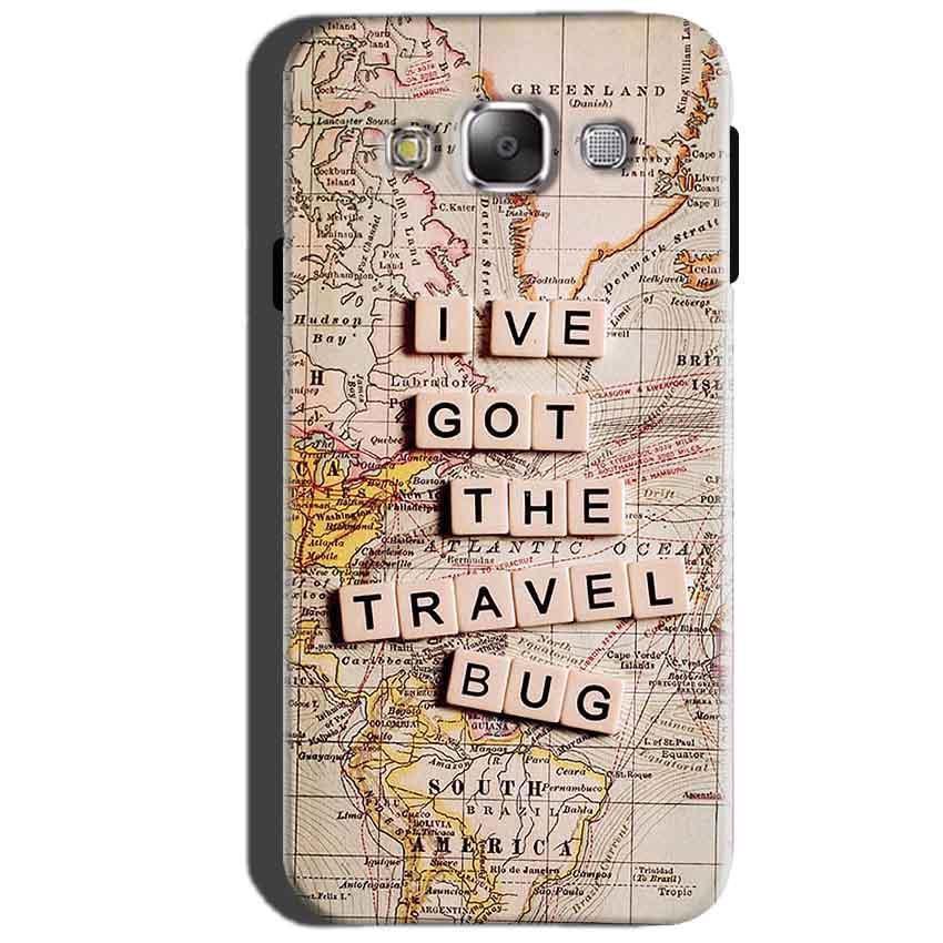 SAMSUNG GALAXY E7 Mobile Covers Cases Live Travel Bug - Lowest Price - Paybydaddy.com