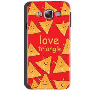 SAMSUNG GALAXY E7 Mobile Covers Cases Love Triangle - Lowest Price - Paybydaddy.com