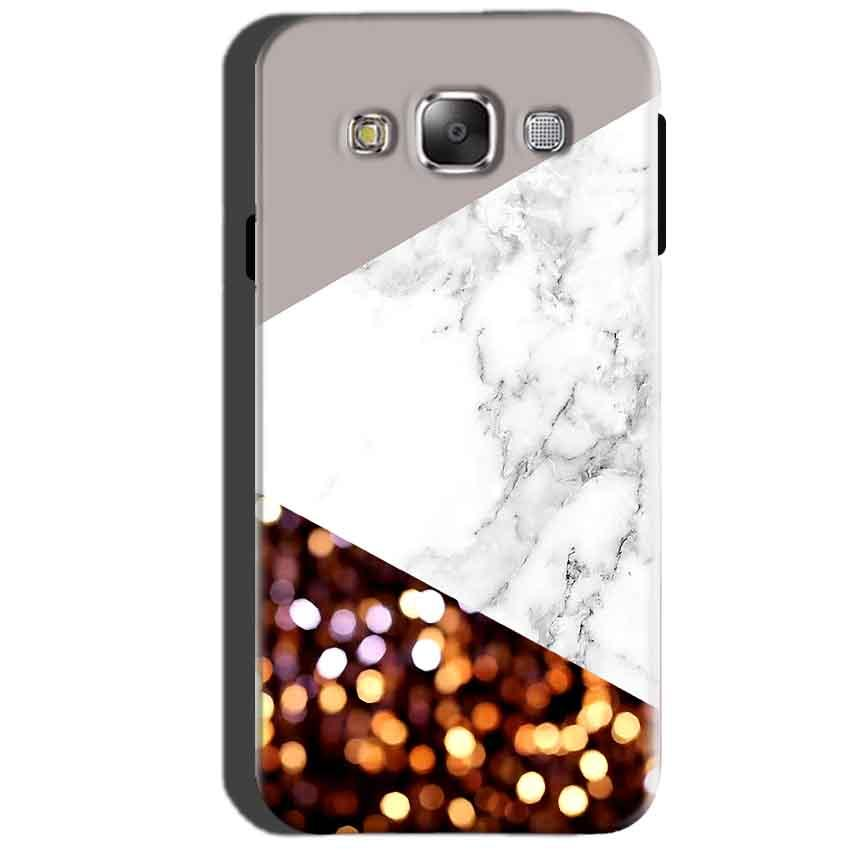 SAMSUNG GALAXY E7 Mobile Covers Cases MARBEL GLITTER - Lowest Price - Paybydaddy.com