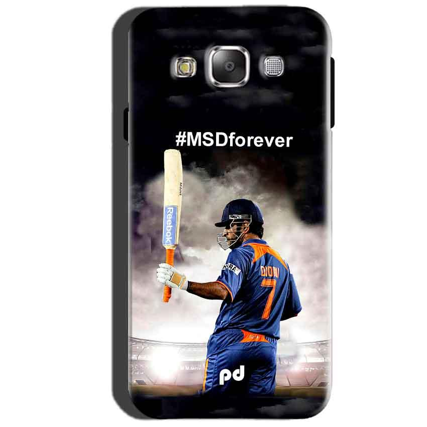 SAMSUNG GALAXY E7 Mobile Covers Cases MS dhoni Forever - Lowest Price - Paybydaddy.com