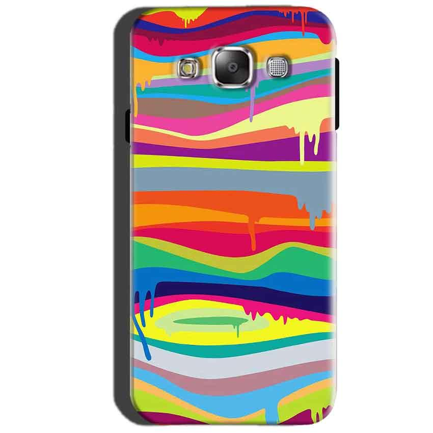 SAMSUNG GALAXY E7 Mobile Covers Cases Melted colours - Lowest Price - Paybydaddy.com