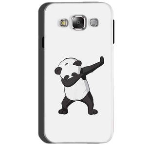 SAMSUNG GALAXY E7 Mobile Covers Cases Panda Dab - Lowest Price - Paybydaddy.com