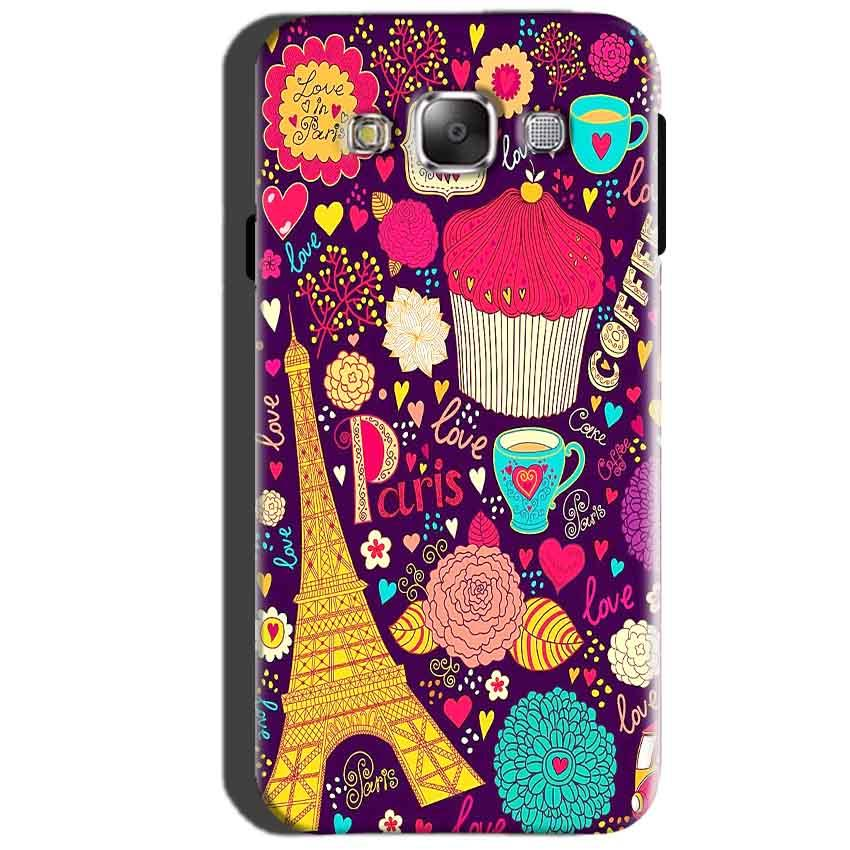 SAMSUNG GALAXY E7 Mobile Covers Cases Paris Sweet love - Lowest Price - Paybydaddy.com