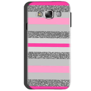SAMSUNG GALAXY E7 Mobile Covers Cases Pink colour pattern - Lowest Price - Paybydaddy.com