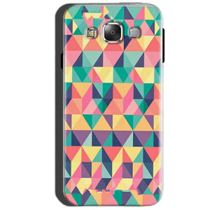 SAMSUNG GALAXY E7 Mobile Covers Cases Prisma coloured design - Lowest Price - Paybydaddy.com