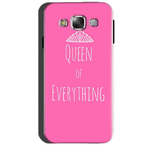SAMSUNG GALAXY E7 Mobile Covers Cases Queen Of Everything Pink White - Lowest Price - Paybydaddy.com