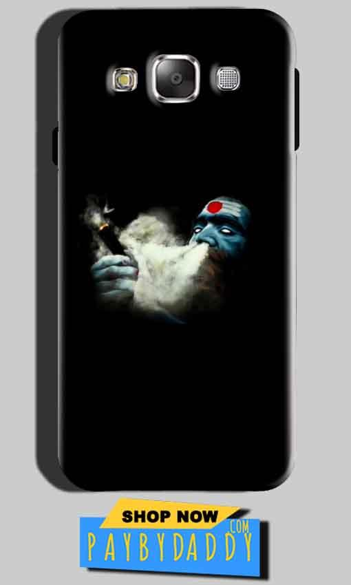 SAMSUNG GALAXY E7 Mobile Covers Cases Shiva Aghori Smoking - Lowest Price - Paybydaddy.com