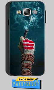 SAMSUNG GALAXY E7 Mobile Covers Cases Shiva Hand With Clilam - Lowest Price - Paybydaddy.com