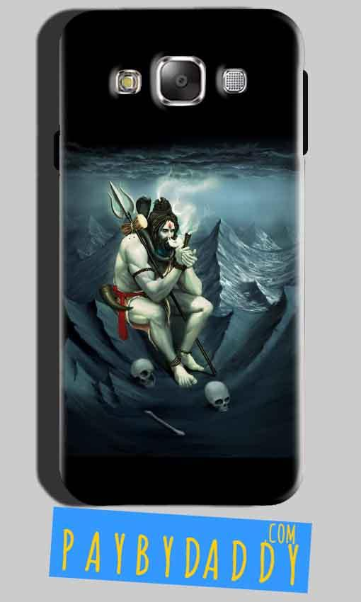 SAMSUNG GALAXY E7 Mobile Covers Cases Shiva Smoking - Lowest Price - Paybydaddy.com