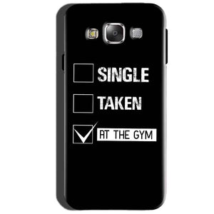 SAMSUNG GALAXY E7 Mobile Covers Cases Single Taken At The Gym - Lowest Price - Paybydaddy.com