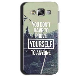 Samsung Galaxy A3 2015 Mobile Covers Cases Donot Prove yourself - Lowest Price - Paybydaddy.com