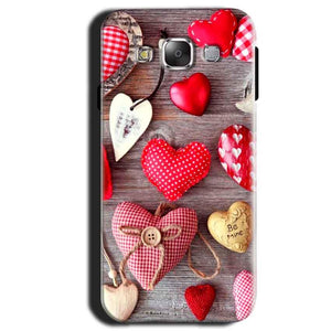 Samsung Galaxy A3 2015 Mobile Covers Cases Hearts- Lowest Price - Paybydaddy.com
