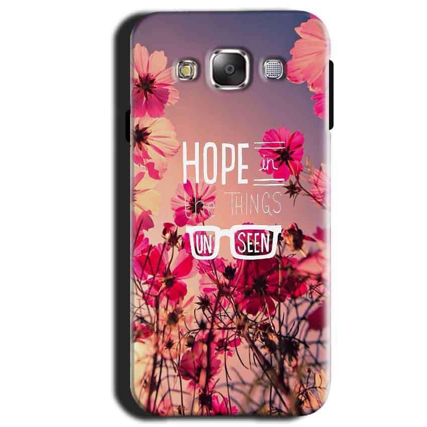 Samsung Galaxy A3 2015 Mobile Covers Cases Hope in the Things Unseen- Lowest Price - Paybydaddy.com