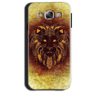 Samsung Galaxy A3 2015 Mobile Covers Cases Lion face art - Lowest Price - Paybydaddy.com