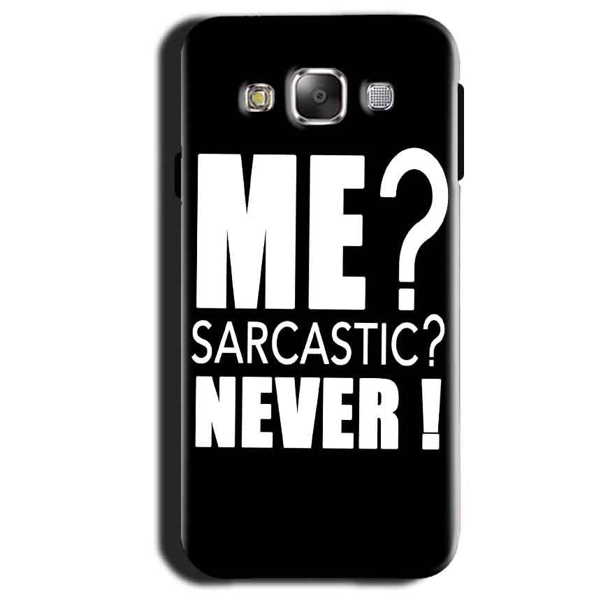 Samsung Galaxy A3 2015 Mobile Covers Cases Me sarcastic - Lowest Price - Paybydaddy.com