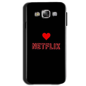 Samsung Galaxy A3 2015 Mobile Covers Cases NETFLIX WITH HEART - Lowest Price - Paybydaddy.com