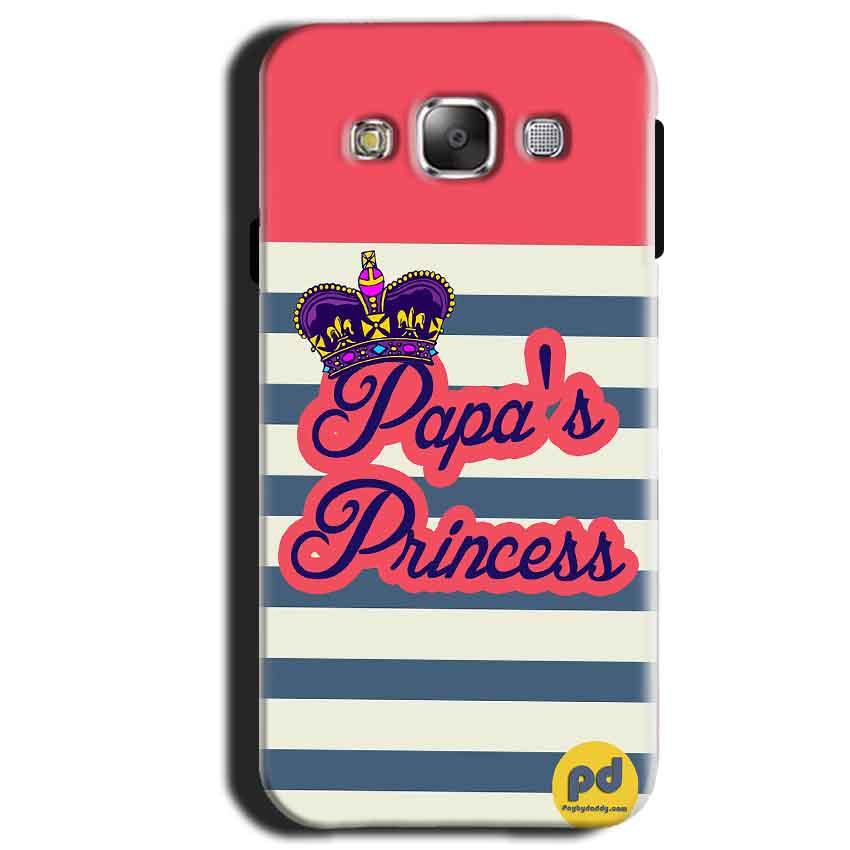 Samsung Galaxy A3 2015 Mobile Covers Cases Papas Princess - Lowest Price - Paybydaddy.com