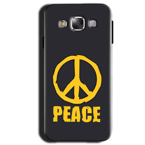 Samsung Galaxy A3 2015 Mobile Covers Cases Peace Blue Yellow - Lowest Price - Paybydaddy.com