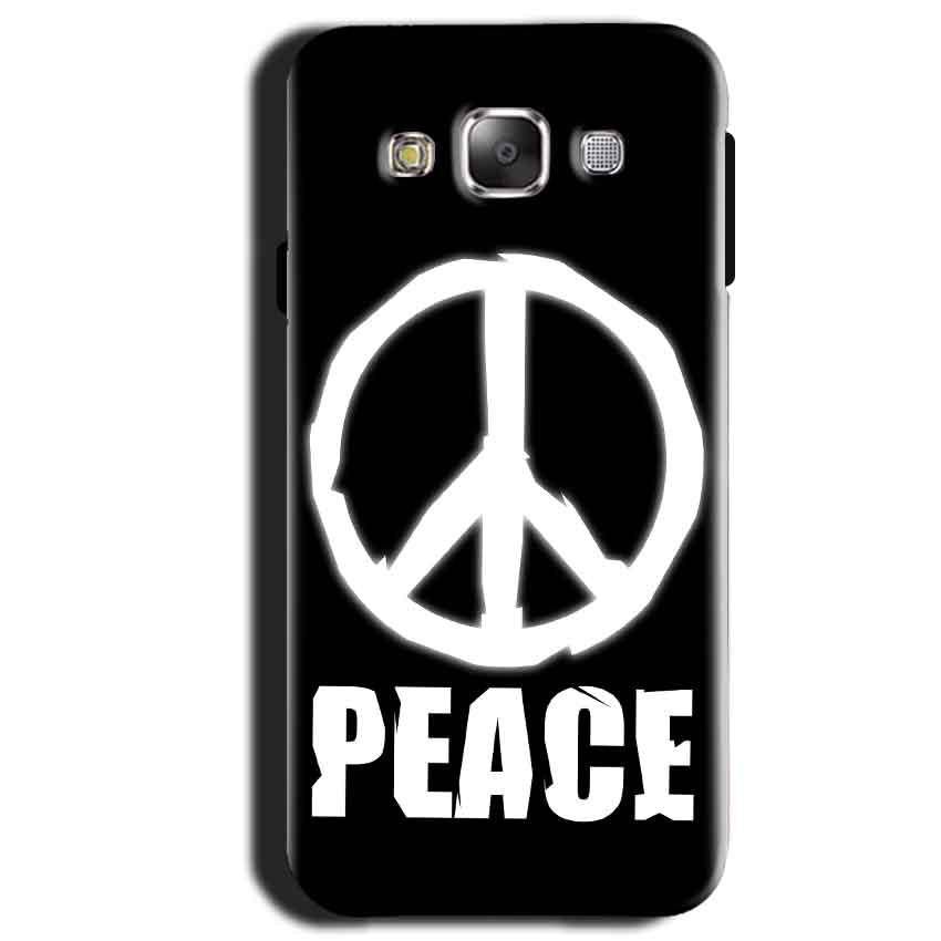 Samsung Galaxy A3 2015 Mobile Covers Cases Peace Sign In White - Lowest Price - Paybydaddy.com