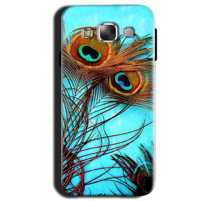 Samsung Galaxy A3 2015 Mobile Covers Cases Peacock blue wings - Lowest Price - Paybydaddy.com