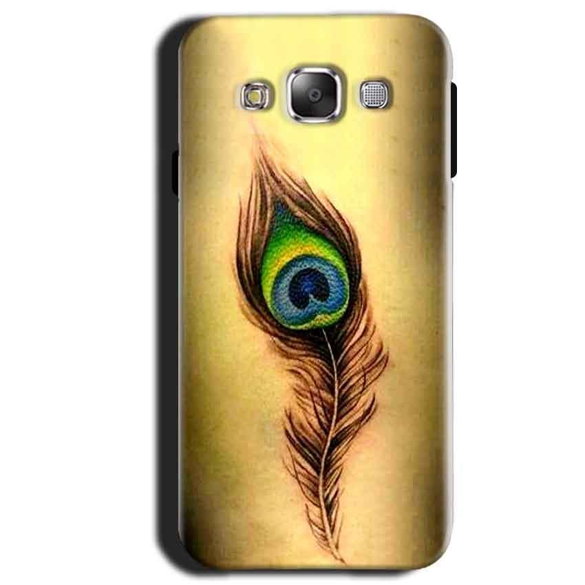 Samsung Galaxy A3 2015 Mobile Covers Cases Peacock coloured art - Lowest Price - Paybydaddy.com