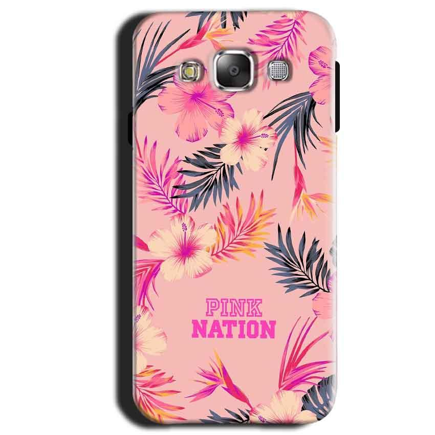 Samsung Galaxy A3 2015 Mobile Covers Cases Pink nation - Lowest Price - Paybydaddy.com