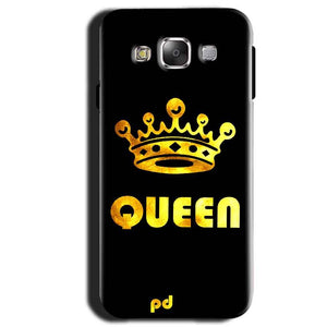 Samsung Galaxy A3 2015 Mobile Covers Cases Queen With Crown in gold - Lowest Price - Paybydaddy.com