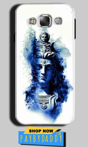 Samsung Galaxy A3 2015 Mobile Covers Cases Shiva Blue White - Lowest Price - Paybydaddy.com