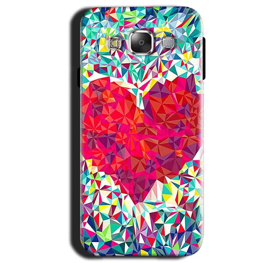 Samsung Galaxy A3 2015 Mobile Covers Cases heart Prisma design - Lowest Price - Paybydaddy.com