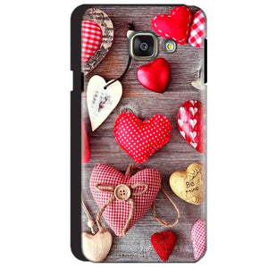 Samsung Galaxy A3 2016 Mobile Covers Cases Hearts- Lowest Price - Paybydaddy.com