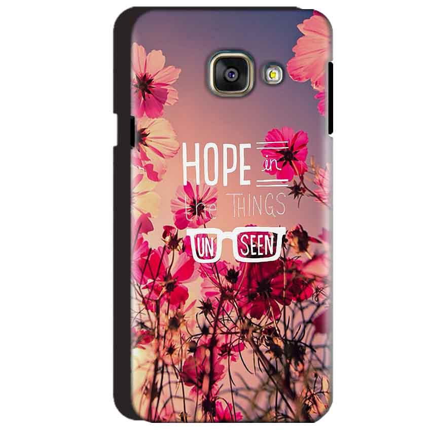 Samsung Galaxy A3 2016 Mobile Covers Cases Hope in the Things Unseen- Lowest Price - Paybydaddy.com