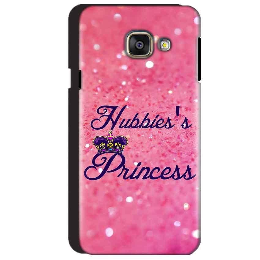 Samsung Galaxy A3 2016 Mobile Covers Cases Hubbies Princess - Lowest Price - Paybydaddy.com
