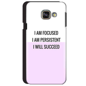 Samsung Galaxy A3 2016 Mobile Covers Cases I am Focused - Lowest Price - Paybydaddy.com
