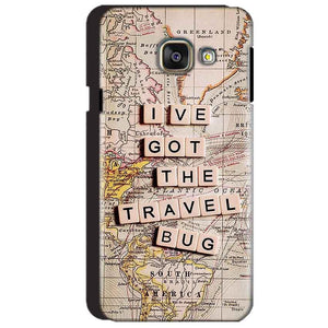 Samsung Galaxy A3 2016 Mobile Covers Cases Live Travel Bug - Lowest Price - Paybydaddy.com