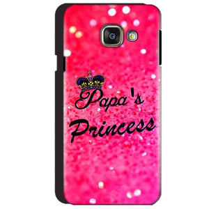 Samsung Galaxy A3 2016 Mobile Covers Cases PAPA PRINCESS - Lowest Price - Paybydaddy.com