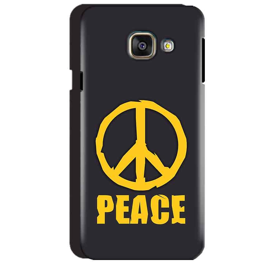 Samsung Galaxy A3 2016 Mobile Covers Cases Peace Blue Yellow - Lowest Price - Paybydaddy.com