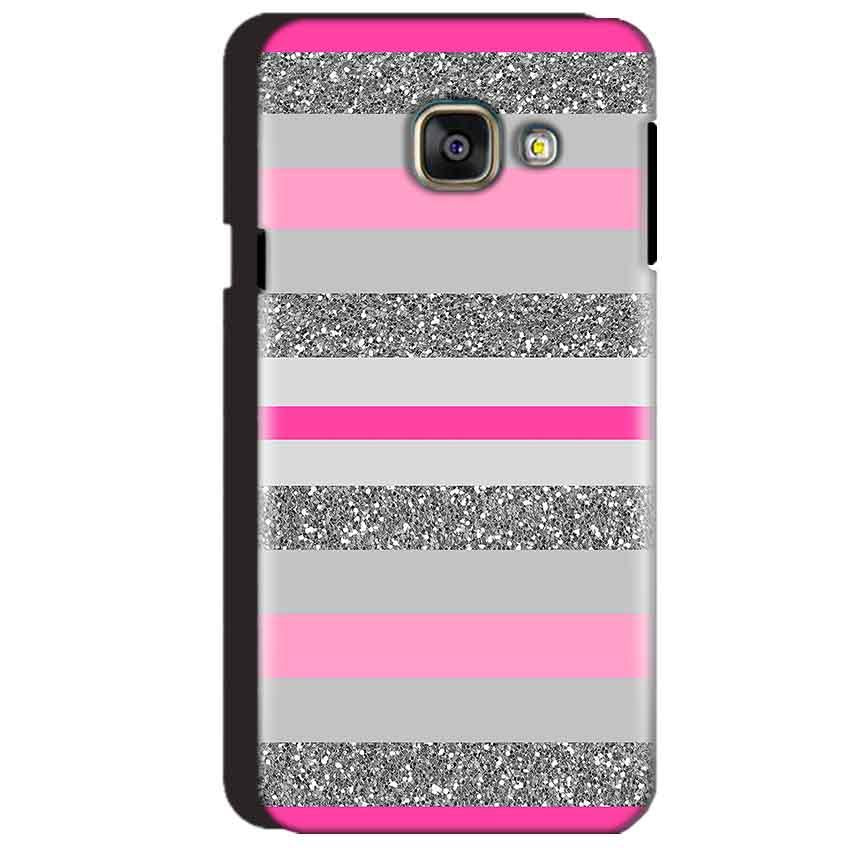 Samsung Galaxy A3 2016 Mobile Covers Cases Pink colour pattern - Lowest Price - Paybydaddy.com