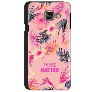 Samsung Galaxy A3 2016 Mobile Covers Cases Pink nation - Lowest Price - Paybydaddy.com