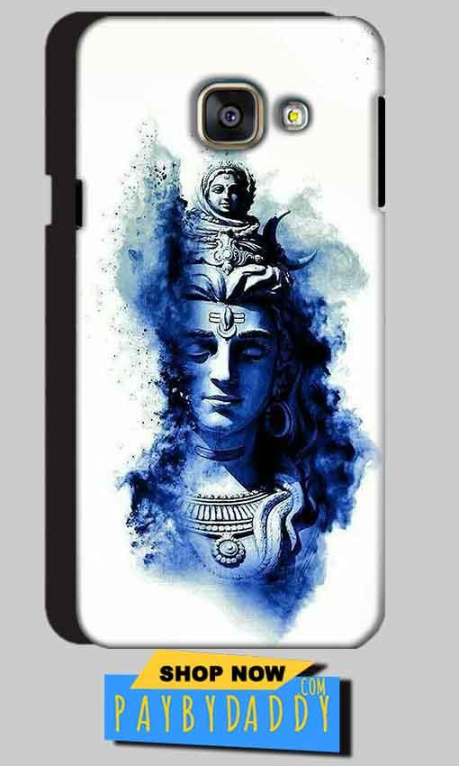 Samsung Galaxy A3 2016 Mobile Covers Cases Shiva Blue White - Lowest Price - Paybydaddy.com