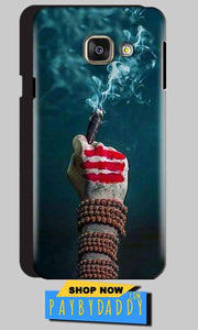 Samsung Galaxy A3 2016 Mobile Covers Cases Shiva Hand With Clilam - Lowest Price - Paybydaddy.com