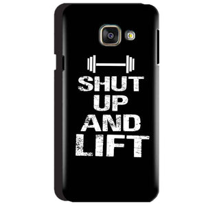 Samsung Galaxy A3 2016 Mobile Covers Cases Shut Up And Lift - Lowest Price - Paybydaddy.com