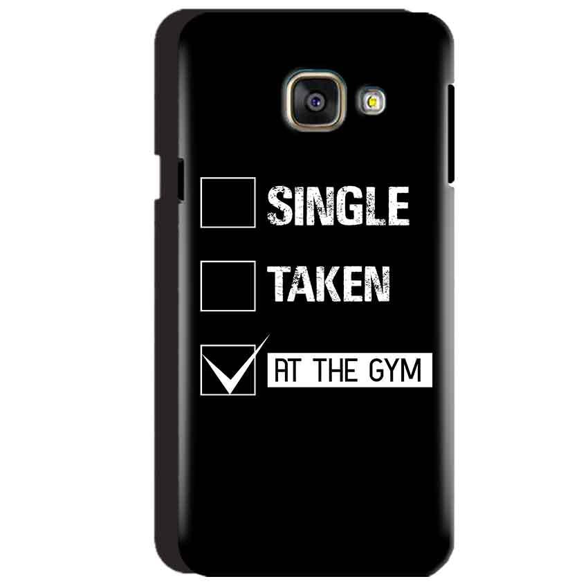 Samsung Galaxy A3 2016 Mobile Covers Cases Single Taken At The Gym - Lowest Price - Paybydaddy.com