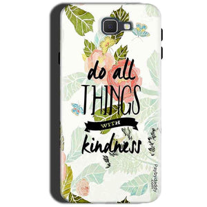 Samsung Galaxy A3 2017 Mobile Covers Cases Do all things with kindness - Lowest Price - Paybydaddy.com