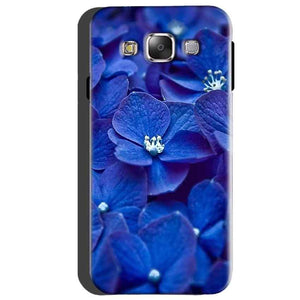 Samsung Galaxy A5 2015 Mobile Covers Cases Blue flower - Lowest Price - Paybydaddy.com