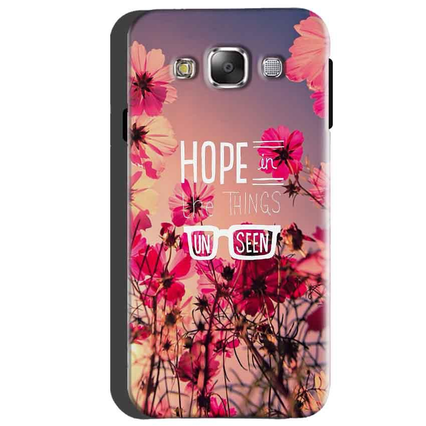 Samsung Galaxy A5 2015 Mobile Covers Cases Hope in the Things Unseen- Lowest Price - Paybydaddy.com