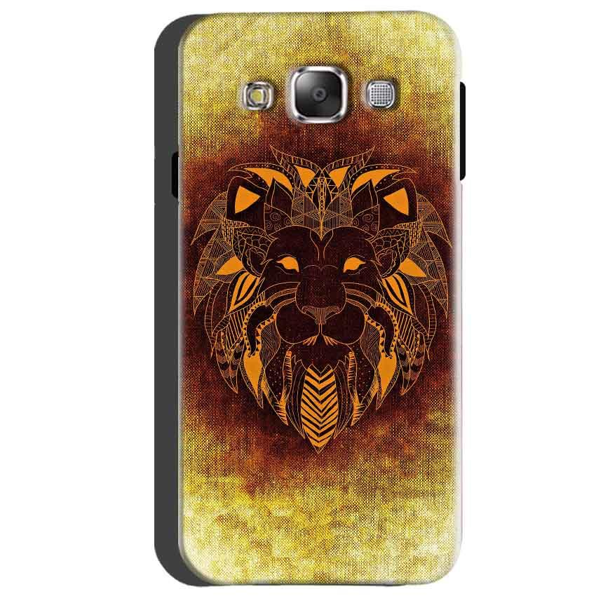 Samsung Galaxy A5 2015 Mobile Covers Cases Lion face art - Lowest Price - Paybydaddy.com