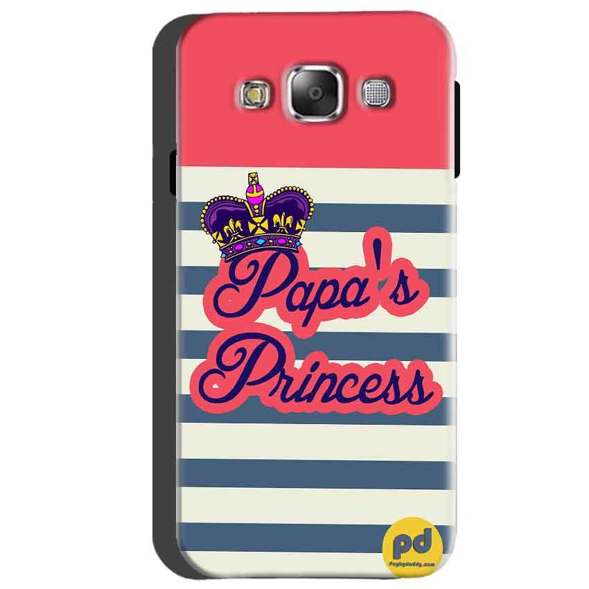 Samsung Galaxy A5 2015 Mobile Covers Cases Papas Princess - Lowest Price - Paybydaddy.com