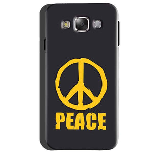 Samsung Galaxy A5 2015 Mobile Covers Cases Peace Blue Yellow - Lowest Price - Paybydaddy.com